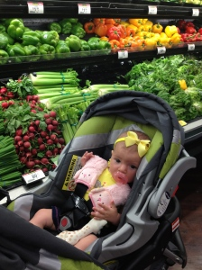 Shopping for baby's first foods